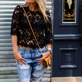 The Goods lace top