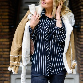 The Goods stripe Blouse