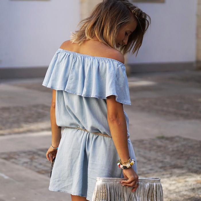 The Goods denim dress