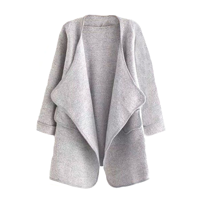 Grey-cardigan