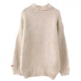 Waffle-knit