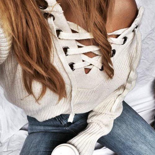 lace-knit